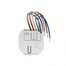ASW-210 Wireless two-channel 230 V AC in-wall controller