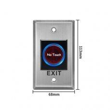PB23, Remote exit button