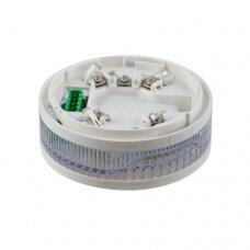 SensoIRIS BSST IS addressable fire base with built-in sounder and strobe, and isolator module