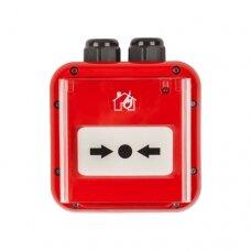 SensoIRIS MCP150 IP67 addressable manual call point